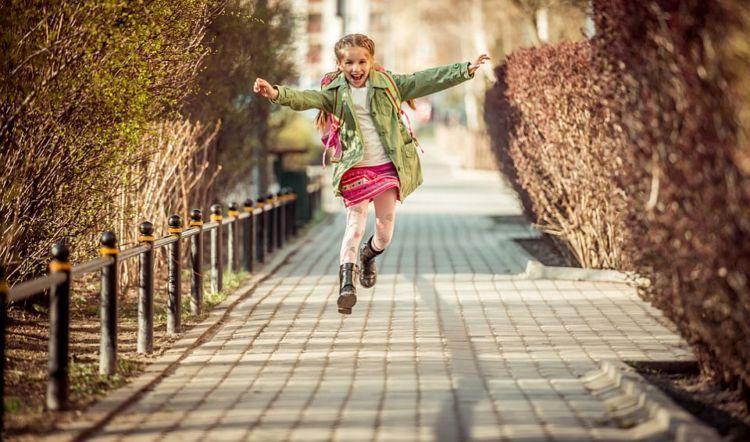 Anak-anak jauh lebih merasa bebas dan bahagia.