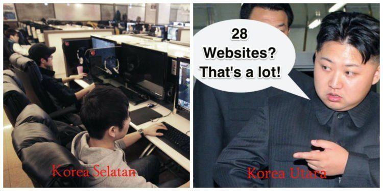 Koneksi internet Korsel adalah tercepat di dunia. Sementara di Korut? Hmm...