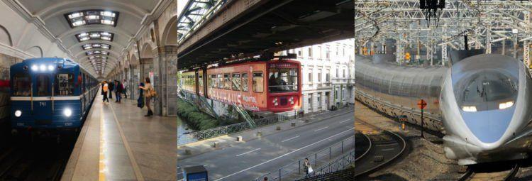 Rusia, Jerman dan Jepang puya sistem kereta api yang cakep