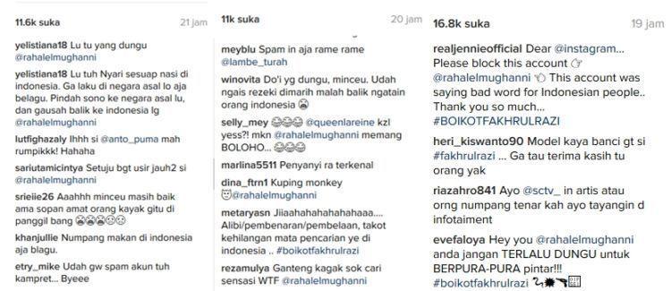 Netizen geram