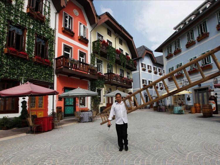 Kalau ingin ke Austria tapi kejauhan, berkunjung saja ke Guang Zhou