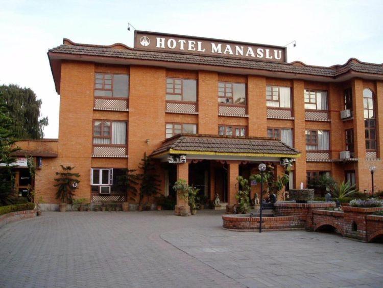Salah satu hotel bintang dua di Nepal