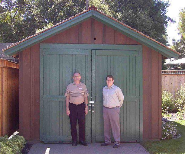 Garasi HP yang kini menjadi museum.