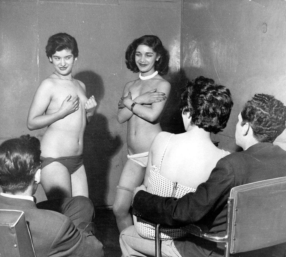 Prostitusi 1955 di Chicago.