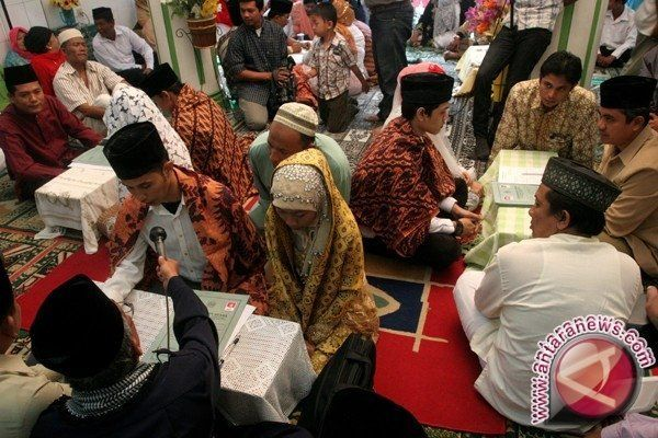Angka pernikahan dini tinggi