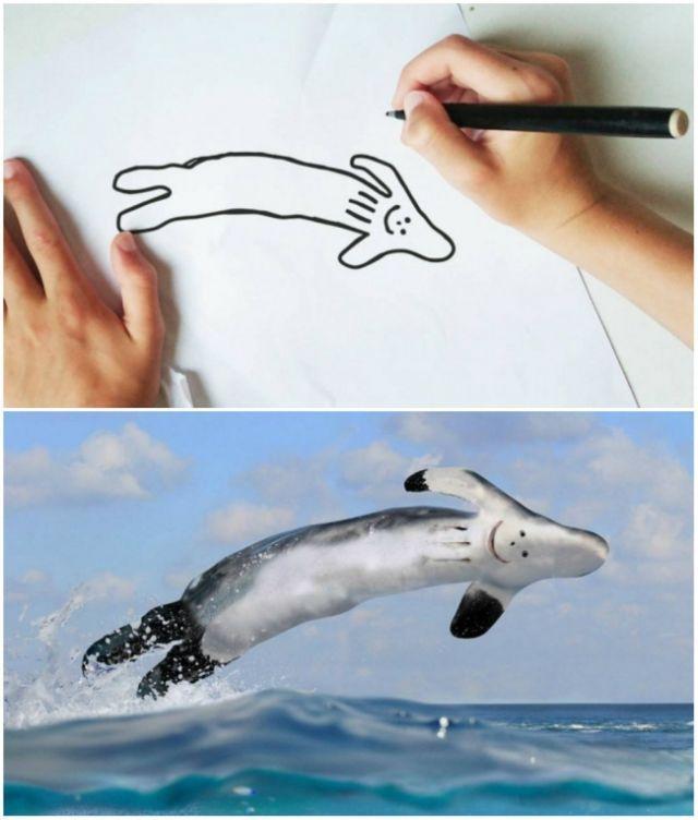 Ikan hiu atau roket?