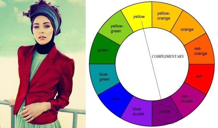 warna komplementer