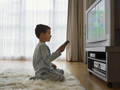 Jangan sering nonton tv ya