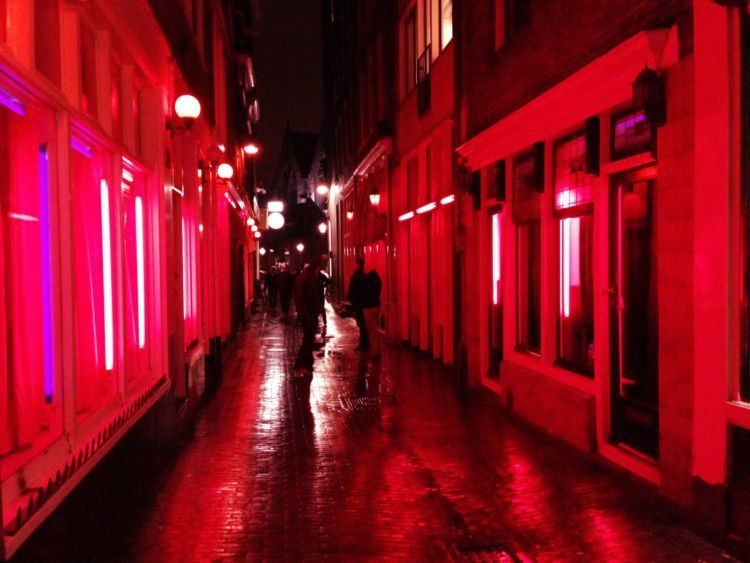 bagian dalam Red Light District