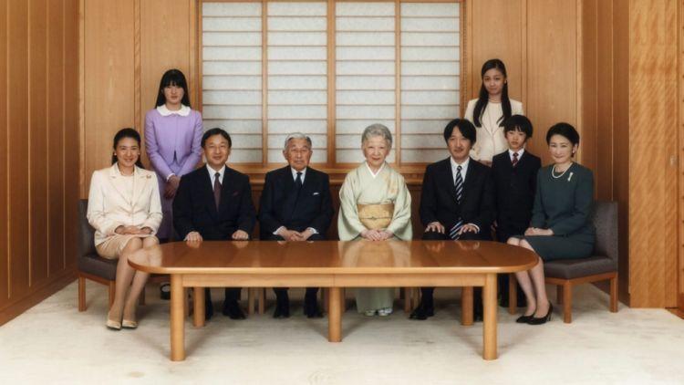 Kaisar Akihito dan keluarga Imperial Jepang