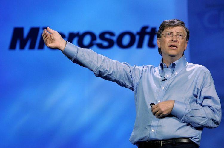Bill Gates, penggagas Microsoft