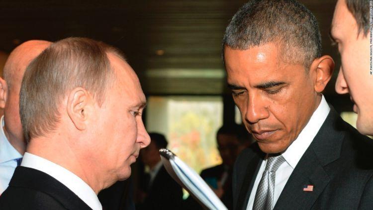 Ketegangan antara Amerika-Rusia semakin menjadi. Tuh liat ekspresi kedua kepala negara tersebut
