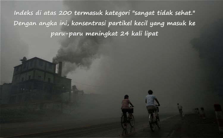 nyatanya, polusi udara memang dapat menjadi pemicu banyak penyakit