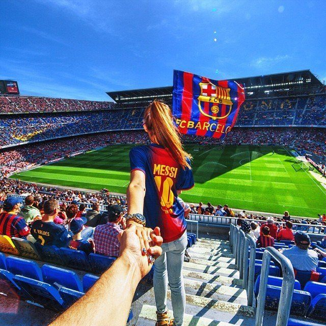The Camp Nou Stadium Barcelona