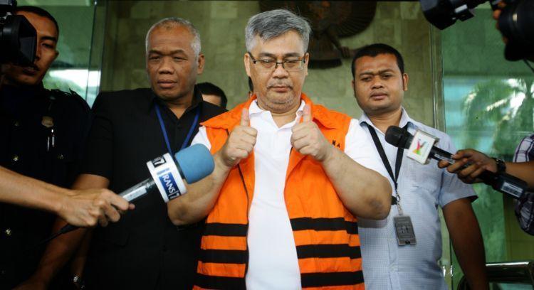 Koruptor di Indonesia tetap pede menghadapi media