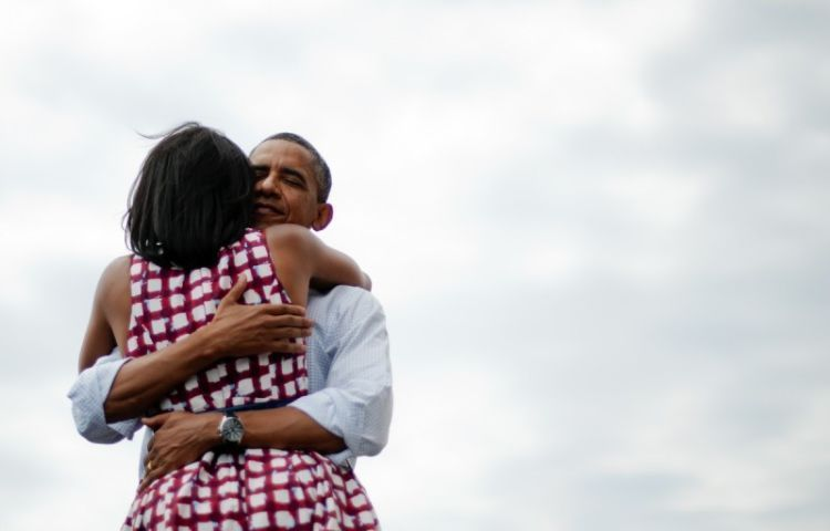 Mesranya Obama dan Michelle