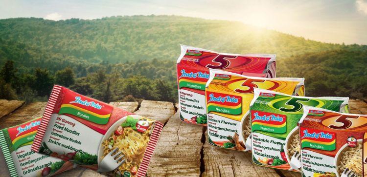 Ini produk Indomie yang dijual di Eropa