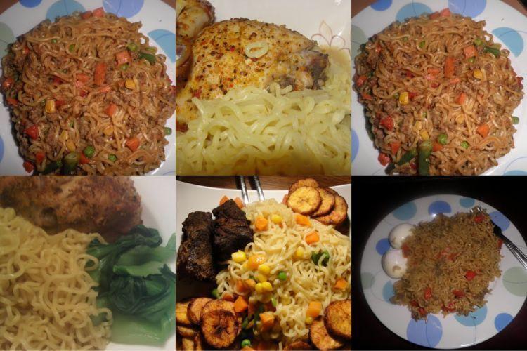 Varian Indomie yang bisa kamu temui di street food Nigeria sana