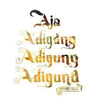 Ojo Adigang, Adigung, Adiguno
