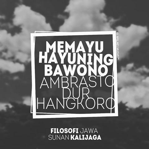Memayu Hayuning Bawono, Ambrasto dur Hangkoro