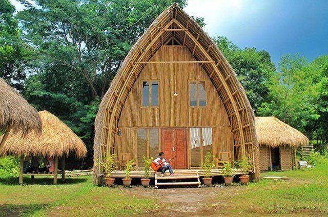 saung bambu sleman