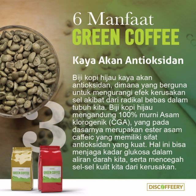 6 Manfaat Green Coffee