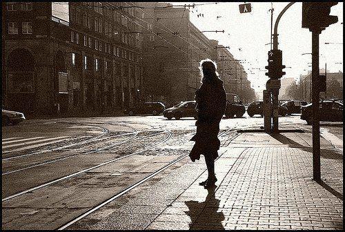 Orang asing di jalan