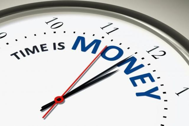 Time is money, money not a time...