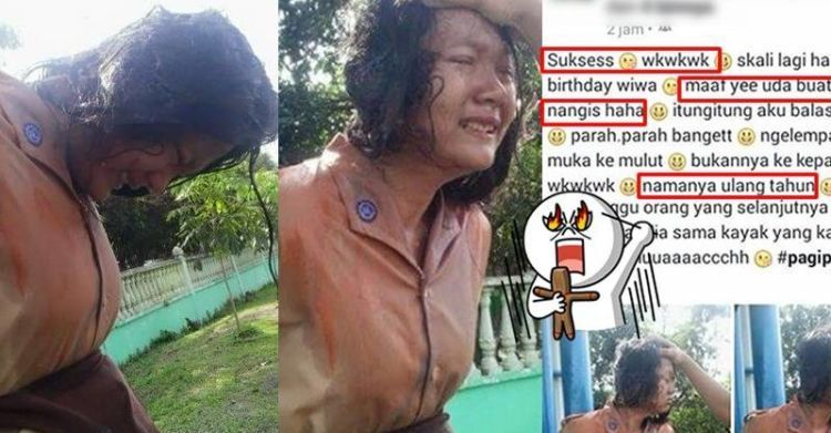 "Pelajar ""disiksa"" lewat perayaan ulang tahunnya"