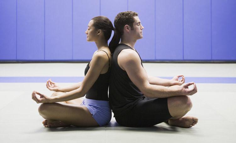 pose meditasi