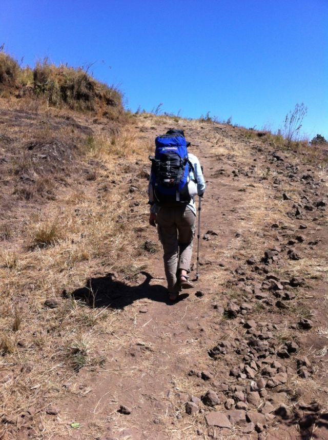 Salah satu track bukit penyesalan