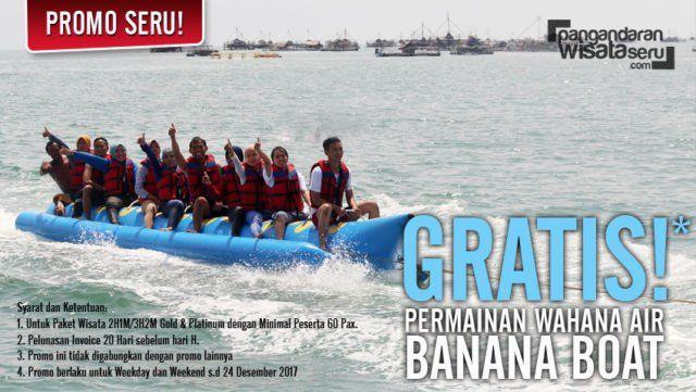 Serunya Banana Boat Gratisan Bray