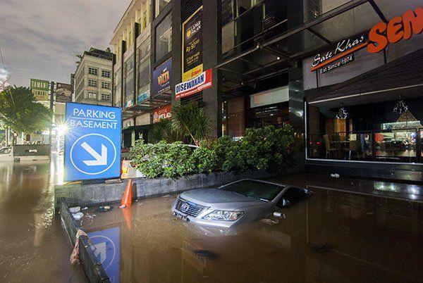 Banjir di wilayah Kemang, Jakarta Selatan