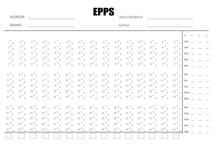 epps test