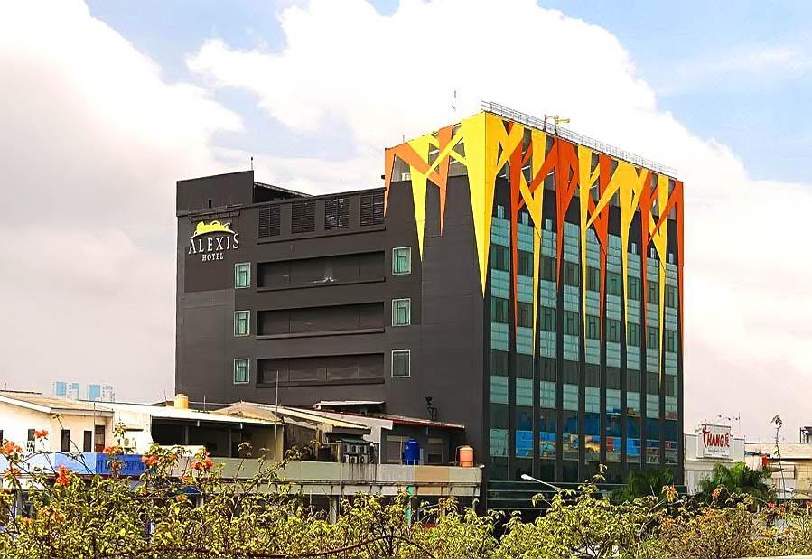 Salah satu hotel di Indonesia.