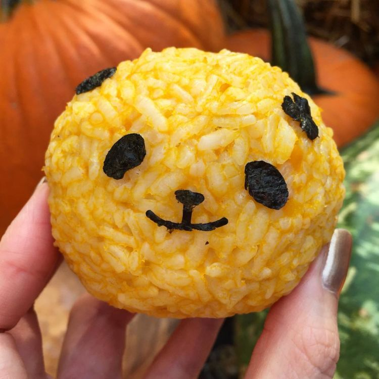 pumpkin rice bowl~
