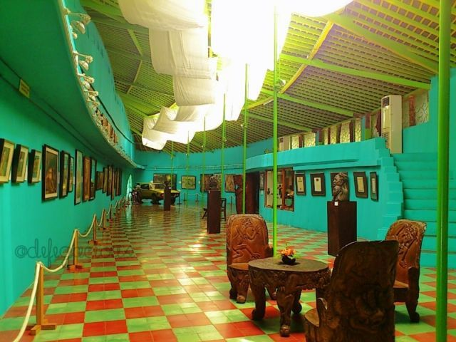 Salah satu area di Museum Affandi