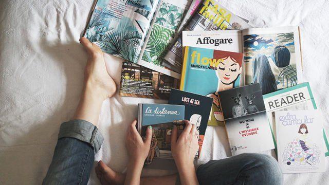 Suka baca itu baik