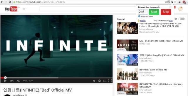 Music video salah satu idol group KPOP
