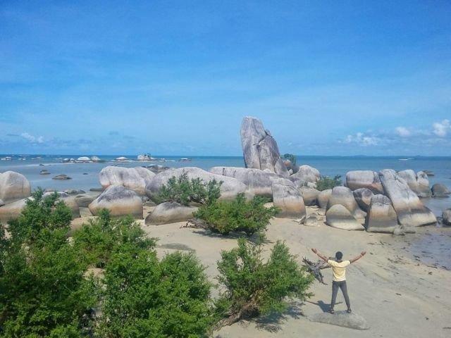 Tanjung Bajun, Teluk Limau, Parittiga, Bangka Barat, Bangka.