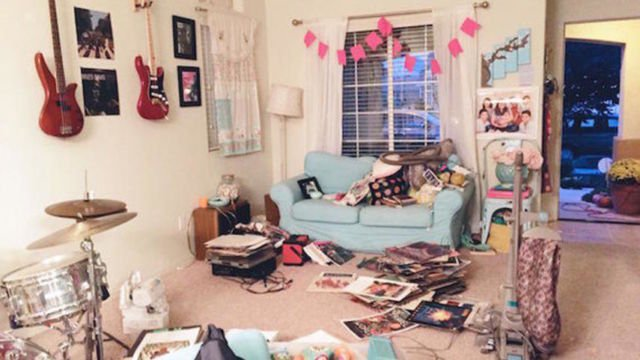 Kamar berantakan