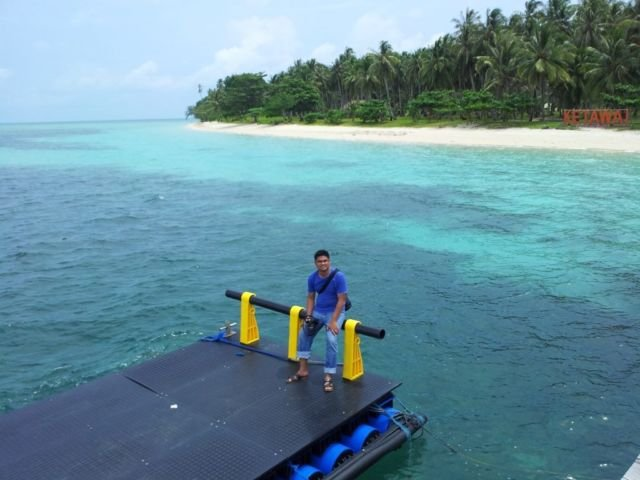 Pulau Ketawai, Bangka Tengah, Bangka.