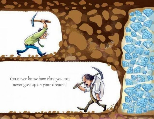 Quotes about Strength for Students - Never give up Never Surrender