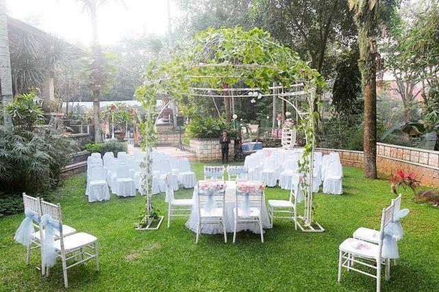 Venue Pernikahan di Villa