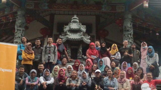 Dokumentasi kegiatan Piknik Bareng Hipwee Semarang
