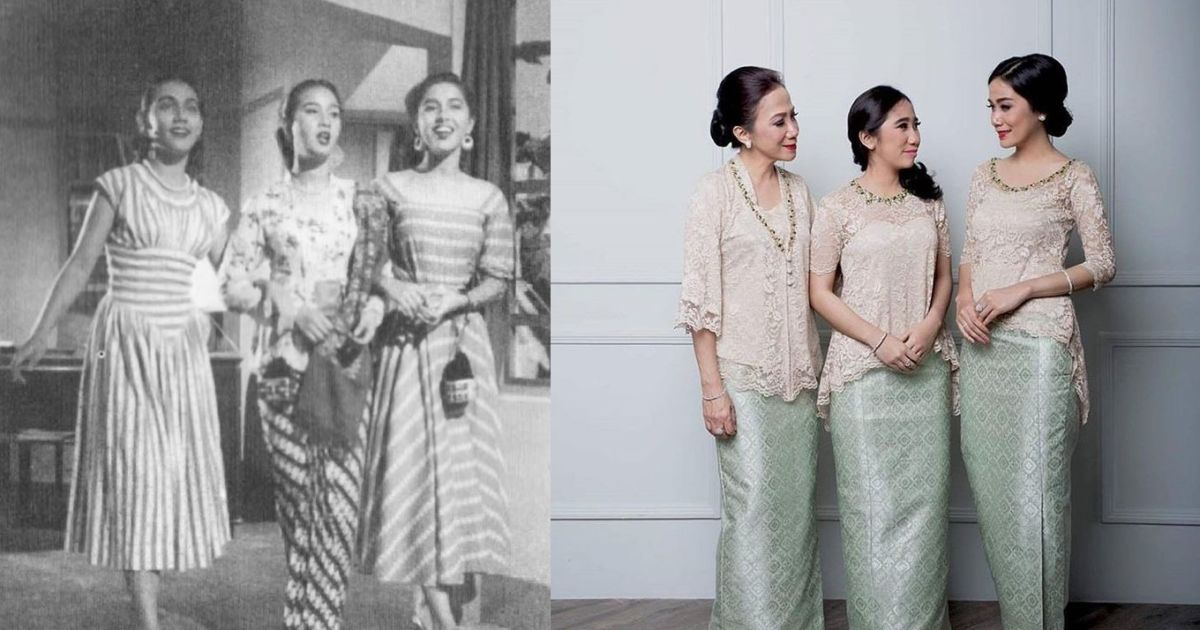 9 Foto Perbedaan Ootd Orang Dulu Dan Sekarang Perkara