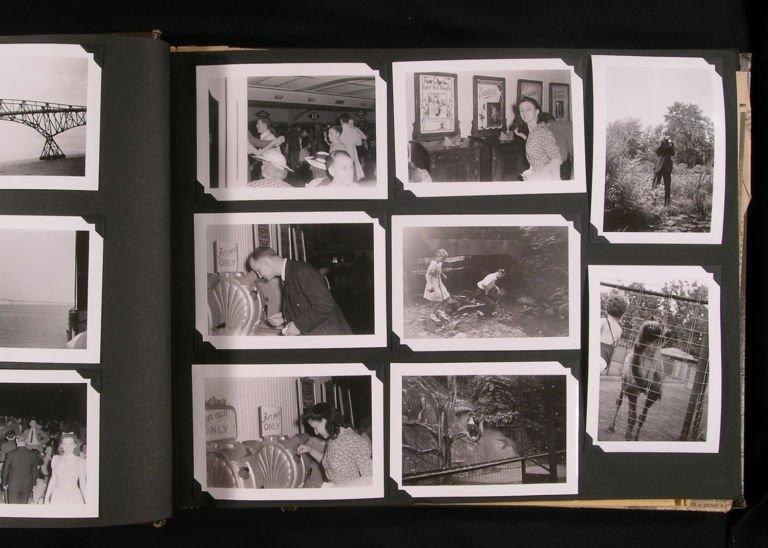 старые фото частных альбомов