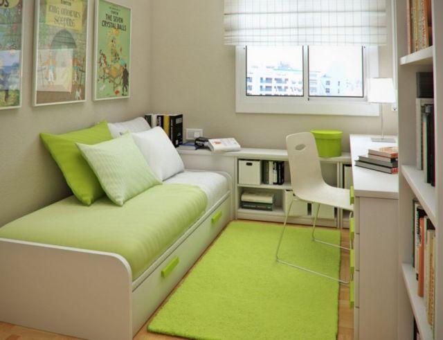 Desain interior kamar kost sederhana