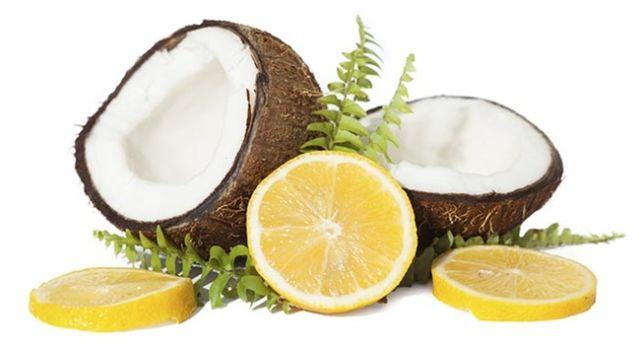 Lemon dan Minyak Kelapa