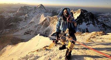 Alasan mendaki gunung